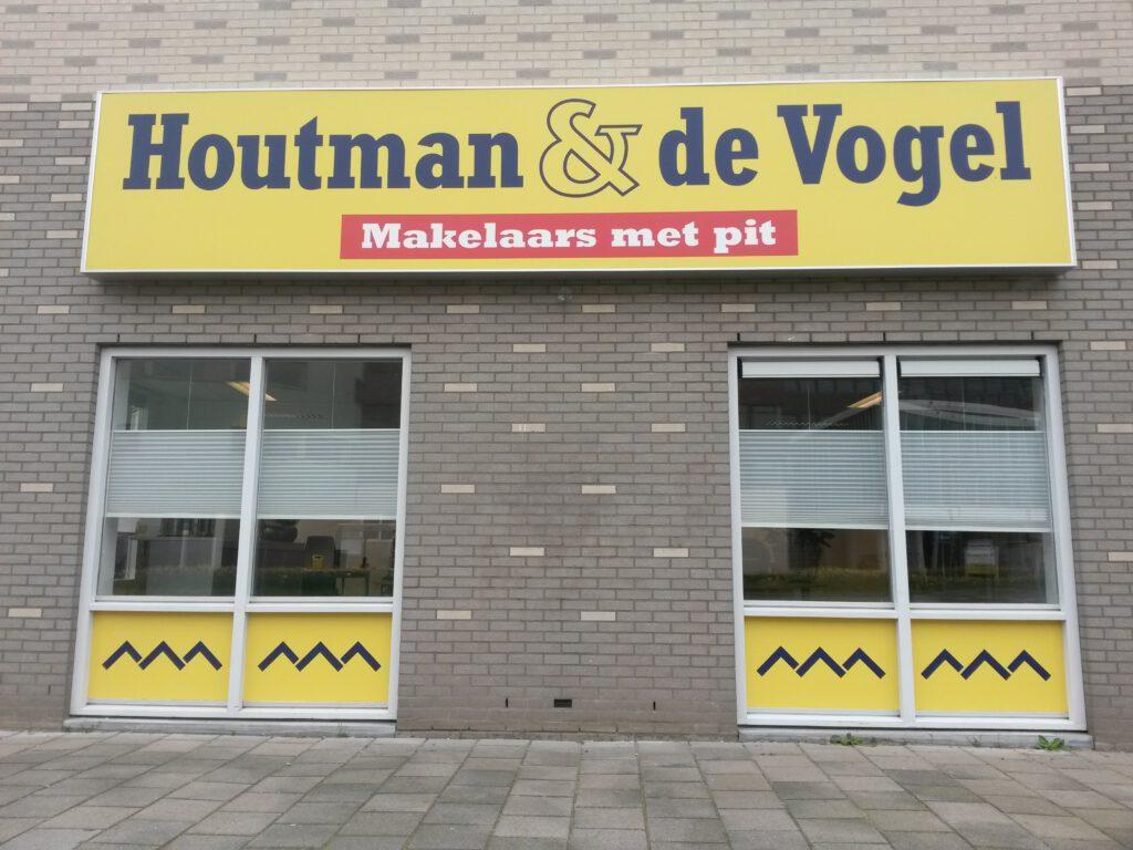 Lichtreclame Houtman & de Vogel