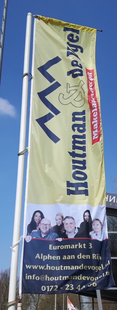 Vlag Houtman & de Vogel