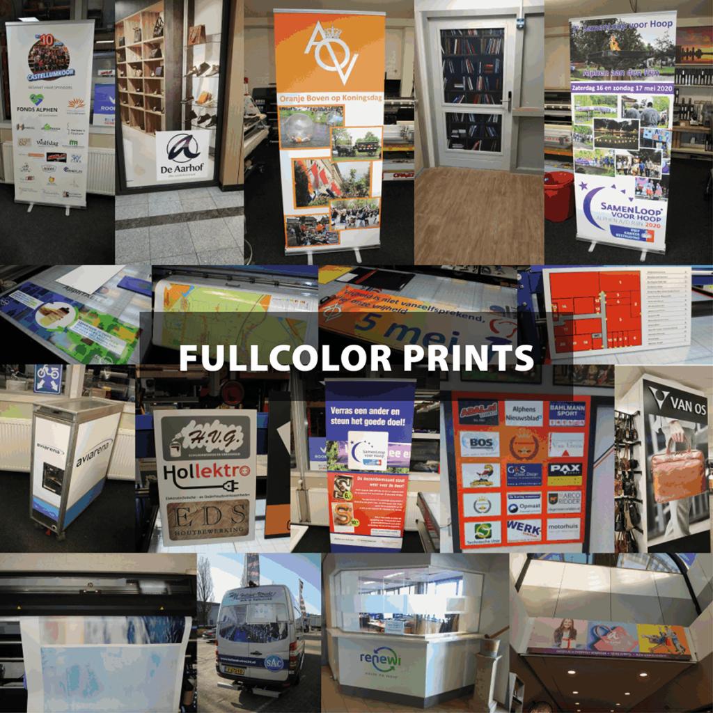 Fullcolor prints