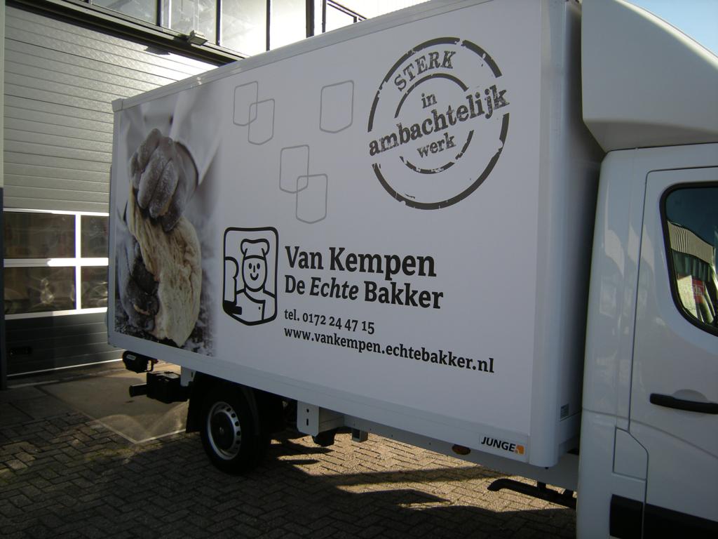 Bestickering bus Van Kempen